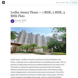 Lodha Amara Thane — 1 BHK, 2 BHK, 3 BHK Flats - Zee auctions - Medium