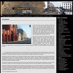 Lodz Ghetto, Litzmannstadt Ghetto