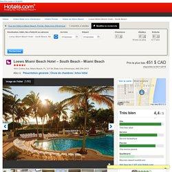Loews Miami Beach Hotel – South Beach - Hotels.com - Promotions et réductions sur vos réservations d'hôtels, du luxe à l'économique