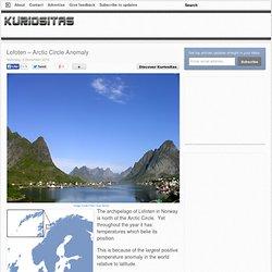 Lofoten – Arctic Circle Anomaly