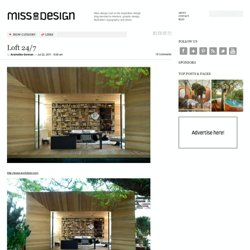 Loft 24/7 | Miss Design - StumbleUpon