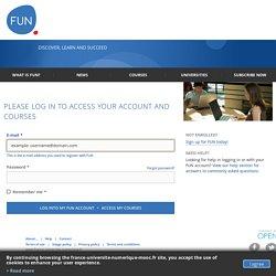 Connectez vous à votre compte FUN