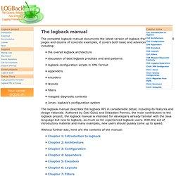 Logback Manual