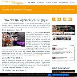 Trouver un logement en Belgique