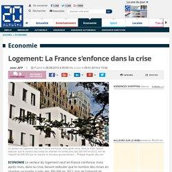 Logement: La France s'enfonce dans la crise