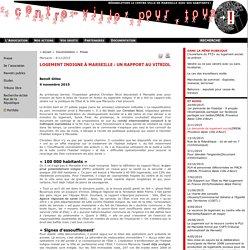Un centre ville pour tous : Logement indigne à Marseille: un rapport au vitriol