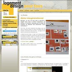 Logement Design pour tous - Atelier intergénérationnel