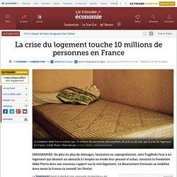 La crise du logement touche 10 millions de personnes en France
