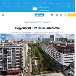 Logement : Paris se surélève