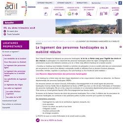 Le logement des personnes handicapées ou à mobilité réduite - ADIL DU DOUBS - ADIL 25