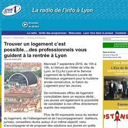 Trouver un logement c'est possible…des professionnels vous guident à la rentrée à Lyon