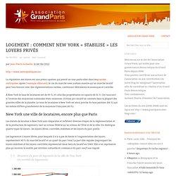 Logement : Comment New York « stabilise » les loyers privés
