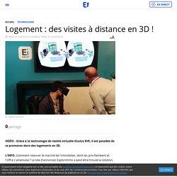 Logement : des visites à distance en 3D !