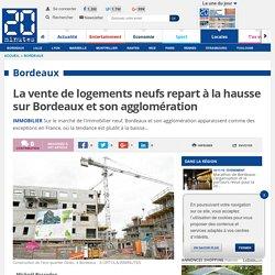 La vente de logements neufs repart à la hausse sur Bordeaux et son agglomération