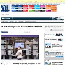 Le prix des logements anciens chute en France sur 20minutes.fr -