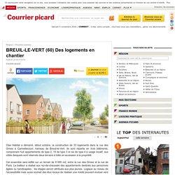 BREUIL-LE-VERT (60) Des logements en chantier - 04/11/16