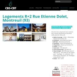 Logements R+2 Rue Etienne Dolet, Montreuil (93)