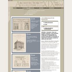 Types de Logements : Les Immeubles de Rapport