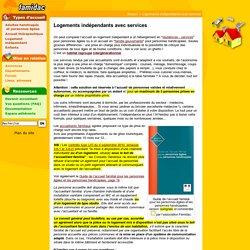 Logements indépendants avec services- Famidac