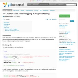 How to re enable logging during unit testing