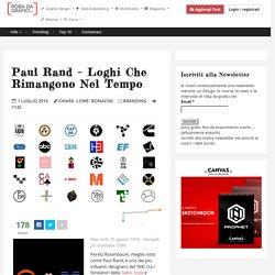 Paul Rand – Loghi che rimangono nel tempo – Robadagrafici.net