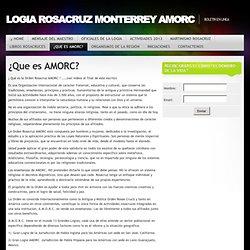 Logia Rosacruz Monterrey Amorc