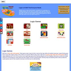 Logic Learning Games For Kids