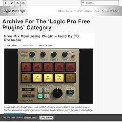 Logic Pro Free Plugins