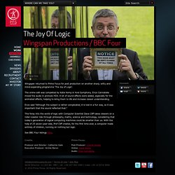 The Joy Of Logic, Wingspan Productions, BBC Four