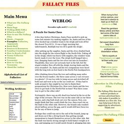 Logical Fallacies: The Fallacy Files
