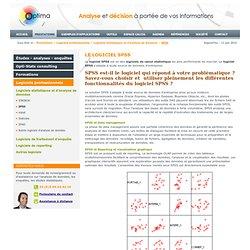 Logiciel d'analyse et de calcul statistique, logiciel SPSS : Optima Europe