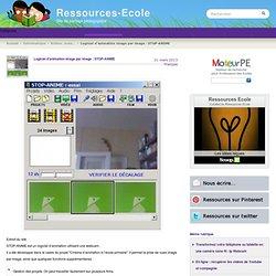 Logiciel d'animation image par image : STOP-ANIME - Ressources-Ecole
