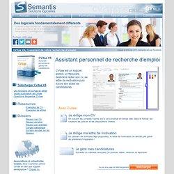Logiciel gratuit CVitae, assistant personnel de gestion de candidatures - Semantis