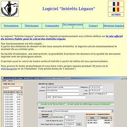 Logiciel de calcul des Intérêts Légaux