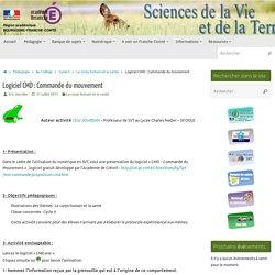 Logiciel CMD : Commande du mouvement » SVT - Académie de Besançon