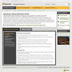 Ghost Solution Suite | Système de migration vers Vista