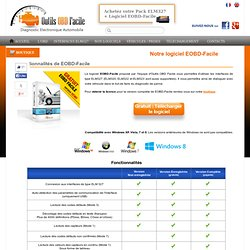 Logiciel de diagnostic automobile EOBD-Facile - Outils OBD Facile