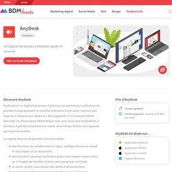AnyDesk : un logiciel de bureau à distance rapide et sécurisé - BDM/tools