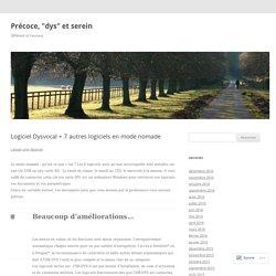 Logiciel Dysvocal + 7 autres logiciels en mode nomade