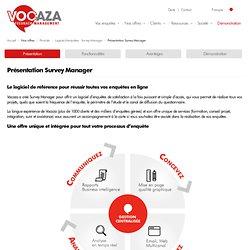 Enquête Internet - WysuForms logiciel d'enquête en ligne pour réaliser vos enquêtes en toute simplicité