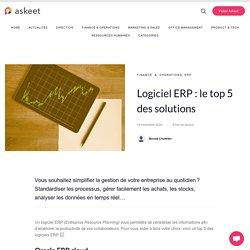 Logiciel ERP : le top 5 des solutions