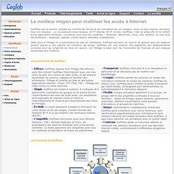 Logiciel de filtrage URL, filtrage Web, filtrage Internet et hotspots Wi-Fi.