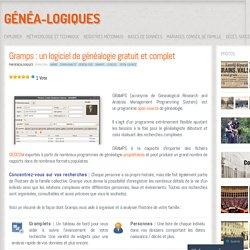 Gramps : un logiciel de généalogie gratuit et complet