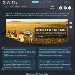 Logiciel de gestion commerciale en mode saas, erp full web pour TPE et PME - SiWiGo