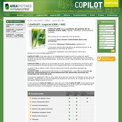 Logiciel de gestion PME / PMI > CoPILOT : Logiciel CRM / GRC
