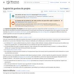 Logiciel de gestion de projets