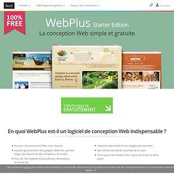 Logiciel gratuit de création de sites Web – Serif WebPlus Starter Edition