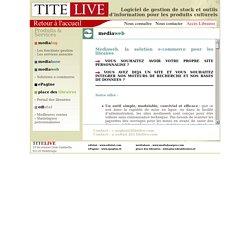 TITE-LIVE - Logiciel de gestion de stock et outils d'information pour les produits culturels