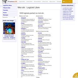 Logiciel Libre - Logiciels libres