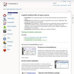 Logiciel médical libre et open source [FreeHealth.io]